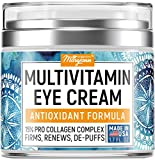 Maryann Organics Eye Cream - Natural Formula with Hyaluronic Acid, Vitamin E & Aloe Vera - Made in USA - Anti Aging Cream for Women - Cleanse, Moisturize, and Protect Your Skin